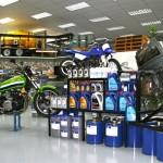 motorbike display
